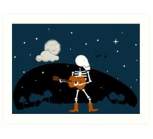 Song of the Night Art Print