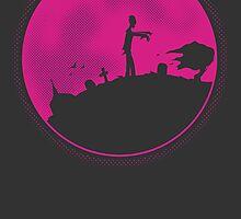 Zombie Moon by elDuendeVerde