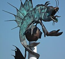 The Plymouth Sea Monster by Yampimon