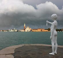 Punta della Dogana Beautiful Storm by kirilart