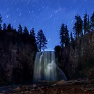 Rainbow Falls under the Stars by MattGranz