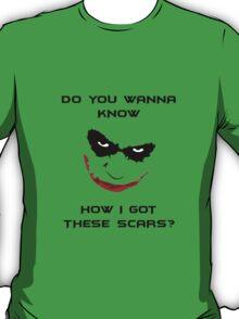 Joker Scars T-Shirt