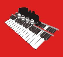 Piano Rail Railroad Revival by Jane McDougall