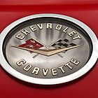 1958 Chevy Corvette Hood Emblem by onyonet photo studios