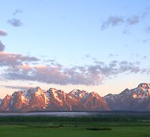 Grand Teton Sunrise by Brian Harig
