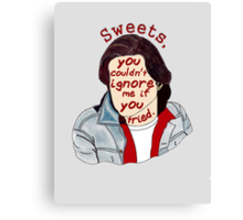 You Couldn't Ignore Me if You Tried [iPhone / iPod case / Print] Canvas Print