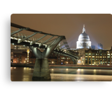 Millenium Bridge, London, England, UK * Canvas Print