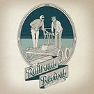 Railroad Revival T-Shirt by PopVulture