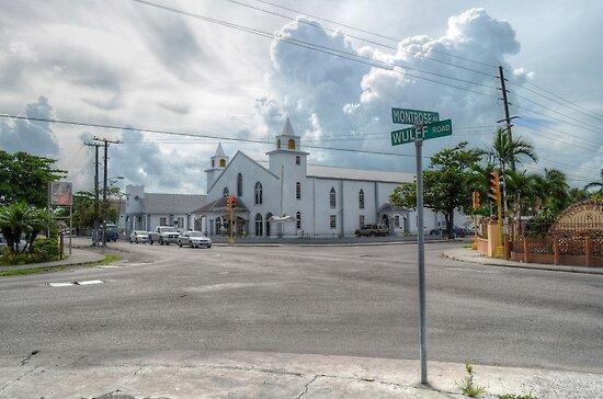 Montrose Avenue & Wulff Road in Nassau, The Bahamas by 242Digital