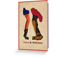 Pond & Williams Greeting Card
