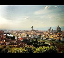 Florence Cityscape by Peter Ames
