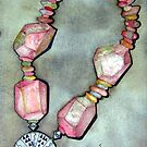 Necklace by Marsha Hallet