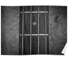Music Nature: Bass Guitar 3 Poster