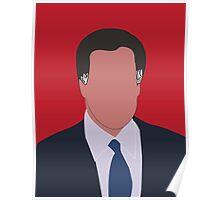 Mitt Romney Digital Illustration Portrait Poster