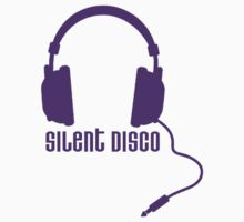 Silent Disco in Purple by Angela Millear