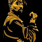 Tupac Vector for prints by mattlock