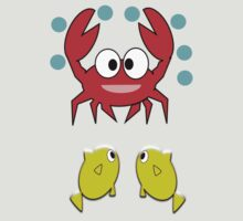 crab & 2 fish (6055 Views) by aldona