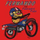 Fernando The Fantastic Flea by Brendan Watson