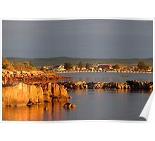 Tumby Bay in the morning. Poster