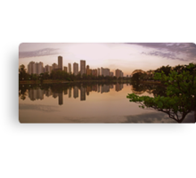 Londrina Sunset Canvas Print