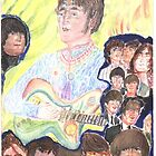 sixties Lennon by LIVING