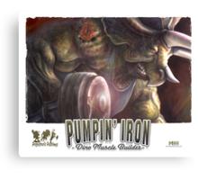 Pumping Iron Canvas Print