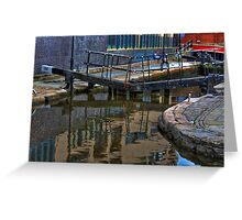 Lock 84, Dale Street Manchester Greeting Card