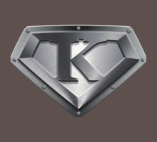 Steel Plated K Letter by adamcampen