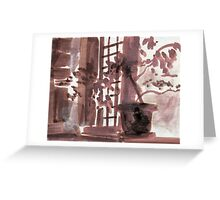 Dusk Shelter Greeting Card