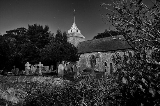 St Mary by Moonlight by ColinKemp