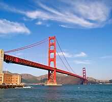The Golden Gate Bridge by Alex Cassels