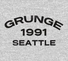 Grunge 1991 Seattle T-Shirt