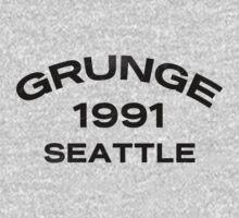 Grunge 1991 Seattle by Alternative Art Steve
