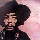 Jimi Hendrix by AccioKaity