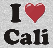 I Heart / Love Cali by HighDesign