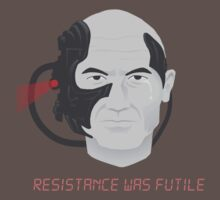 Resistance was Futile - Picard, Locutus of Borg by agliarept