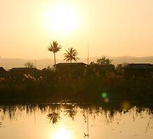 Golden Sun by kimiazahir