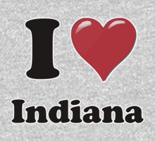 I Heart / Love Indiana  by HighDesign