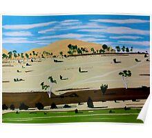 Landscape North of Oatlands Poster