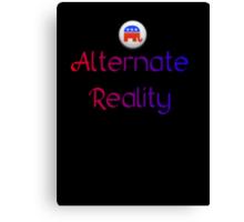 Alternate Reality Mitt Romney 2012 Canvas Print