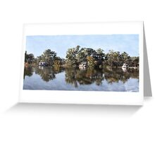 Along the lazy river... Greeting Card