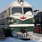 Diesel  locomotive by mrivserg