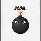 'Boom'// iPhone/iPod case by samdesigns