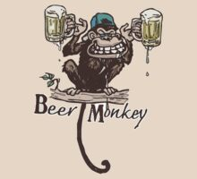 Beer Monkey by MudgeStudios