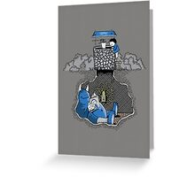 Nightlights and Oven Mitts Greeting Card