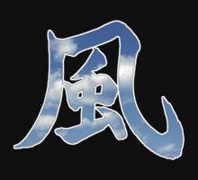 Wind Kanji (Kaze Japanese) by Andaimaru