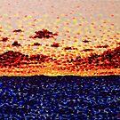 'Sunset at Sea'   by Alan Hogan