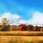 Autumn Fields by Alma Lee