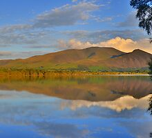 The Lake District: Skiddaw Reflections by Rob Parsons