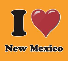 I Heart / Love New Mexico by HighDesign